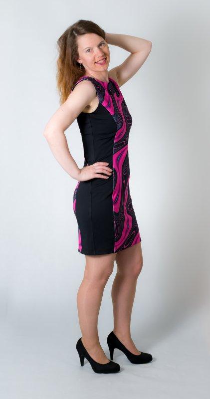 Dámské šaty Baronesa - Autorské šaty