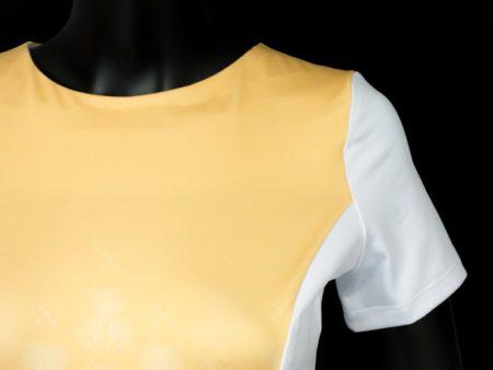Dámské šaty Baronesa - Vanilkové nebe detail