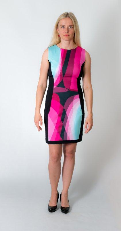 Zeštíhlující šaty - dámské šaty Baronesa
