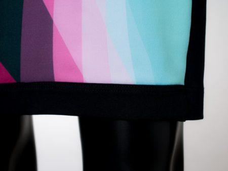 Dámské šaty Baronesa - Růžový tangens detail